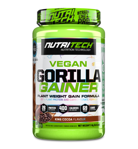 Gorilla Gainer 1kg   Plant-Based Weight Gain
