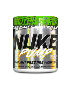 NUKE Pump | Caffeine Free Pre-Workout