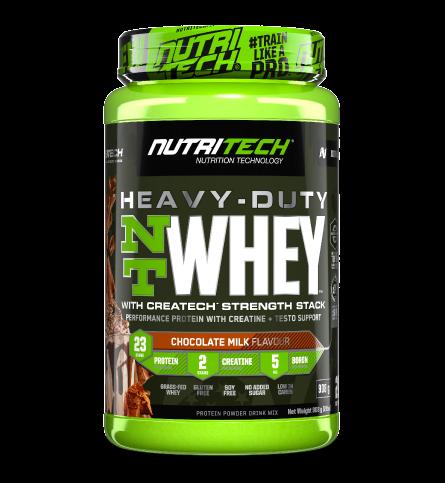 Heavy-Duty NT Whey Protein 2lbs (908g)