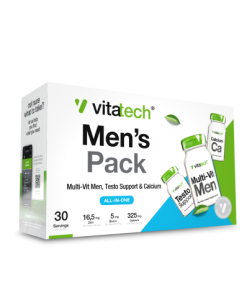 Men's Health Pack - Daily Vitamins & Health Supplements